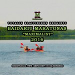 """""""Baidarių Maratonas Maximalist 2016"""""""